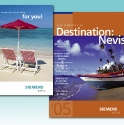 Promotion for an employee travel incentive program.